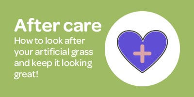 Learn how to maintain your new artificial grass