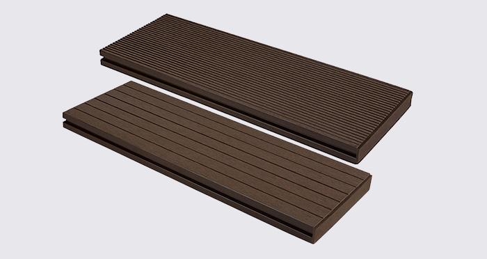 Composite Prime HD Deck XS - Walnut Composite Decking (2 Pack) - Descriptive 2