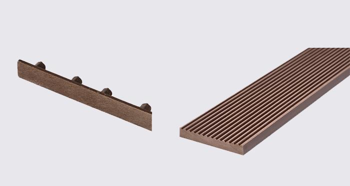 Composite Prime HD Deck XS - Walnut Composite Decking (2 Pack) - Descriptive 5