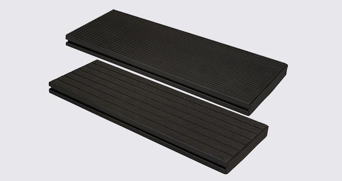 Composite Prime HD Deck XS - Lava Composite Decking (2 Pack) - Descriptive 2