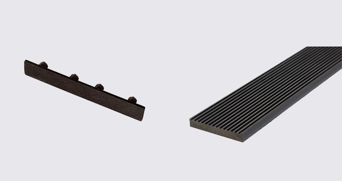 Composite Prime HD Deck XS - Lava Composite Decking (2 Pack) - Descriptive 5
