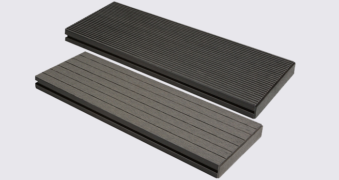 Composite Prime HD Deck XS - Silver Composite Decking (2 Pack) - Descriptive 2
