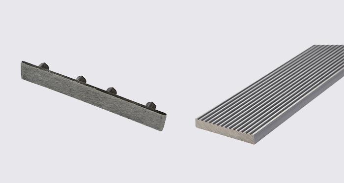 Composite Prime HD Deck XS - Silver Composite Decking (2 Pack) - Descriptive 5