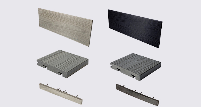 Composite Prime HD Deck Dual - Antique / Carbon Composite Decking (2 Pack) - Descriptive 8