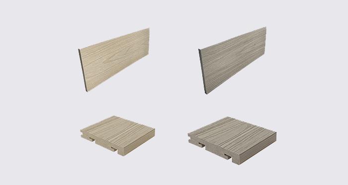 Composite Prime HD Deck Pro - Champagne / Oyster Composite Decking (2 Pack) - Descriptive 9