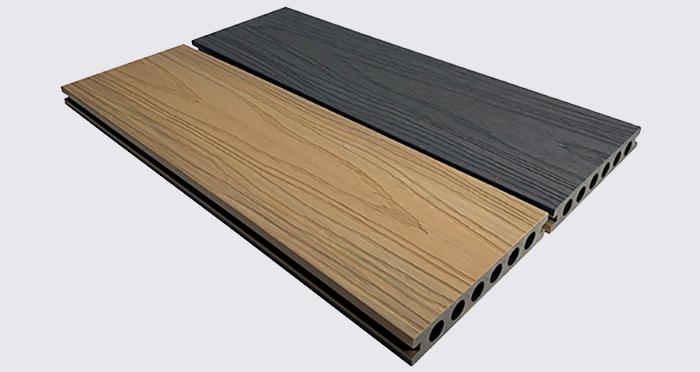 Composite Prime HD Deck Dual - Natural Oak / Slate Composite Decking (2 Pack) - Descriptive 6