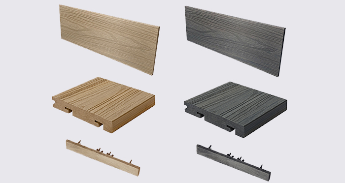 Composite Prime HD Deck Dual - Natural Oak / Slate Composite Decking (2 Pack) - Descriptive 8