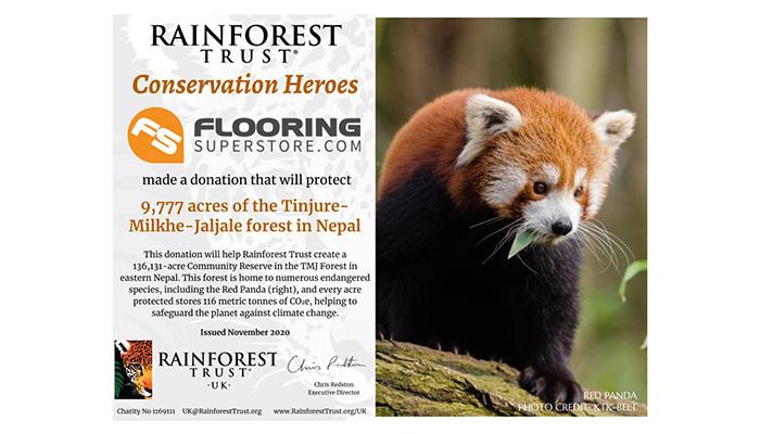 Rainforest Trust Certificate